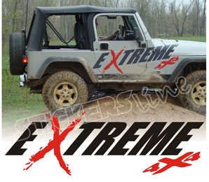 Adesivi 4x4 Auto Fuoristrada Extreme 4x4 Car Stickers Ebay